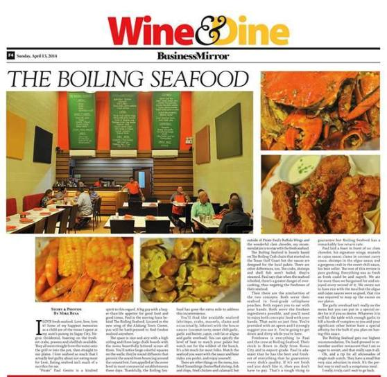 business mirror wine and dine